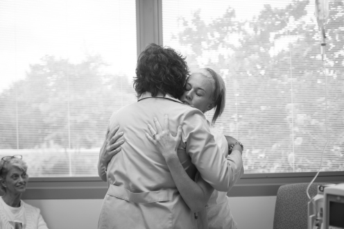 Pro-tip: Get an oncologist who hugs